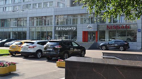 Ниссан автосалон москва официальный автосалоны в москве и московской области на карте